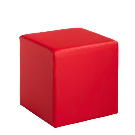 Hocker Tjill rouge rose