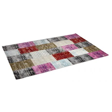 Tapis Patchwork Multicolor