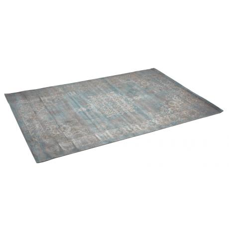 Tapis Medaillon Grey Light Blue