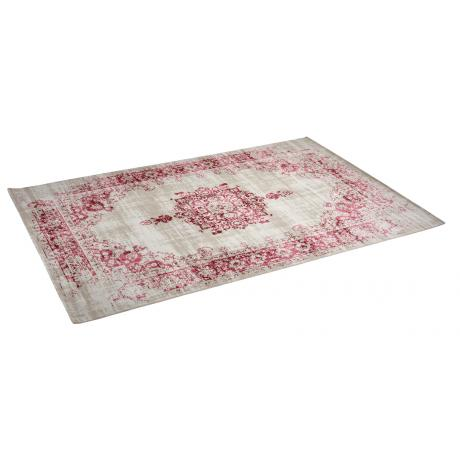 Tapis Medaillon Cream Red